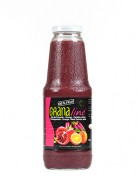 Pure Organic pomegranate orange purple carrot juice (6x1L)